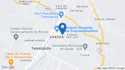 Pousada Village Terê Map
