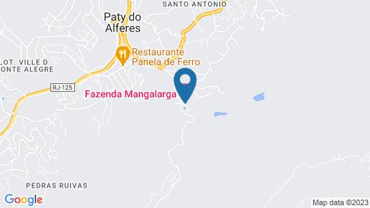 Hotel Fazenda Mangalarga Map