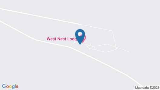 West Nest Lodge Map