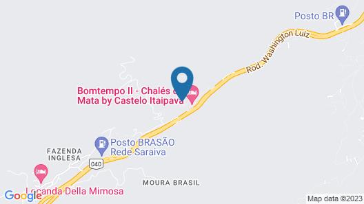 Caminho Real Hotel Map