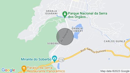 Hospedagem Doce Lar - Casa Girassol Map