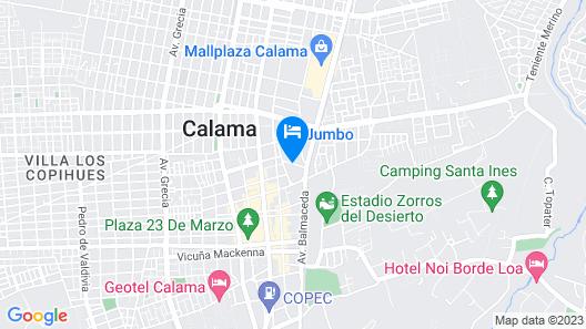 ibis Calama Map