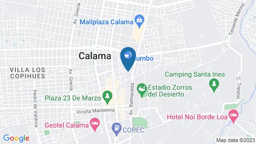 ibis budget Calama Map