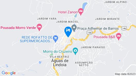 Hotel Mantovani Map