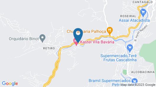 Hotel Vila Bavaria Map