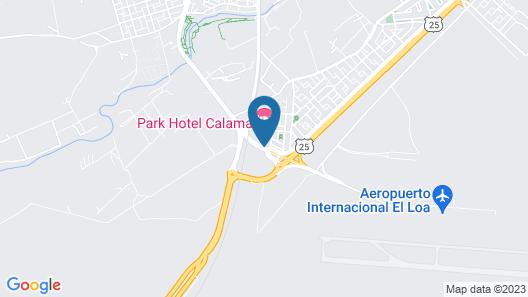 Park Hotel Calama Map