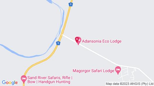Adansonia Eco Lodge Map
