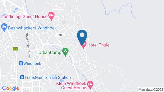 Hotel Thule Map