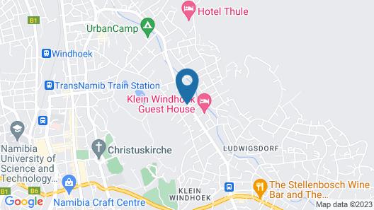 Hillside Executive Accommodation Map