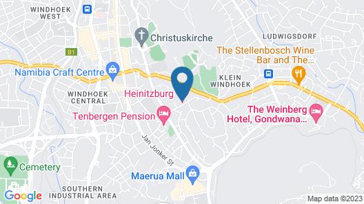 Hotel Heinitzburg Map