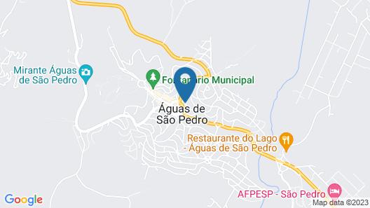 Hotel Portal das Águas Map