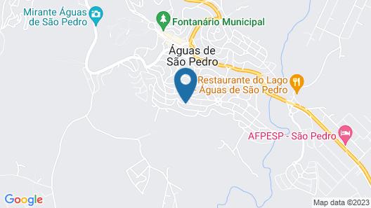Pousada Rural Paraiso Map
