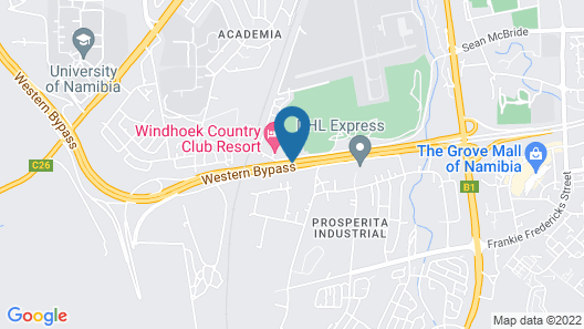 Windhoek Country Club Map