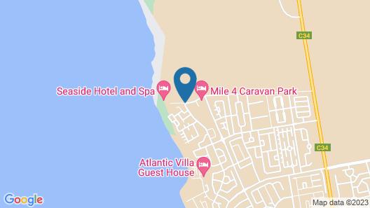 Seaside Hotel & Spa Swakopmund Map