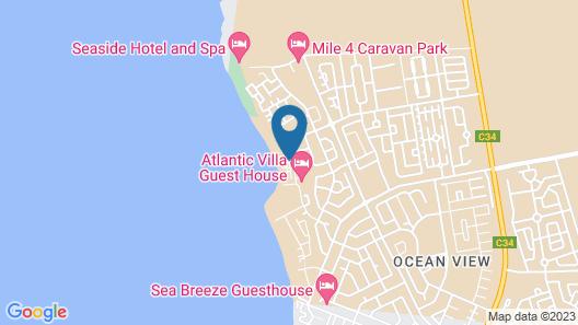 Villa Maji Bed & Breakfast Map