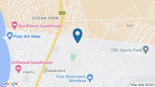 Josef Self-Catering Accommodation Map