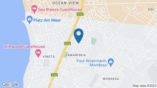 Tina's Guesthouse Map