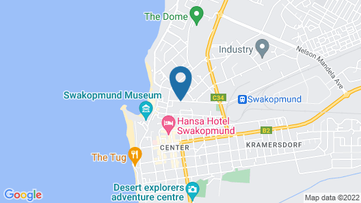 Hotel Eberwein Map
