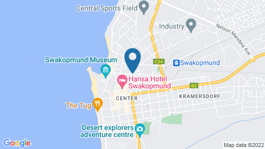 The Delight Swakopmund Map