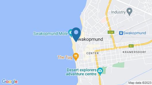 Strand Hotel Swakopmund Map