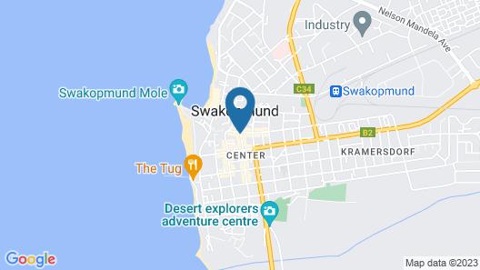 Hansa Hotel Map