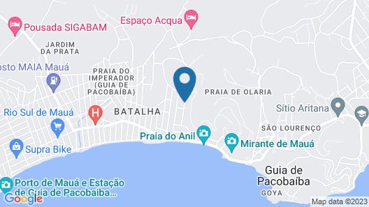 Pousada L'Auberge Map