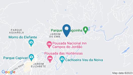 Pousada Casa Mantiqueira Map