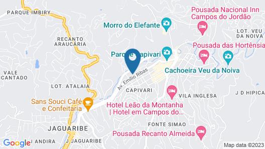 Flat Hotel Palazzo Reale Map