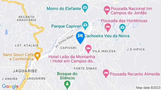 Villa Amistà Campos do Jordão Map
