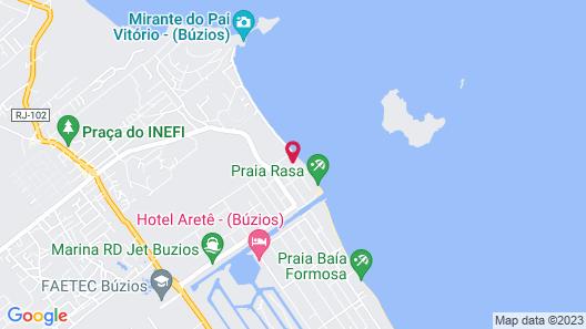 Casa do Mar Buzios Map