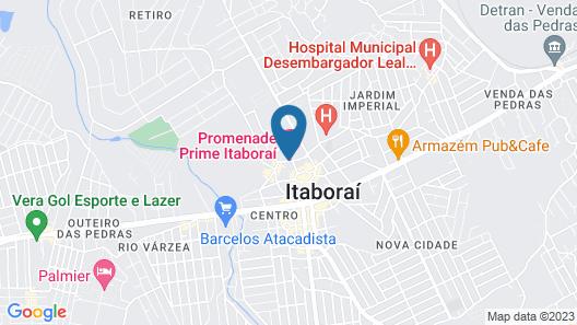 Promenade Prime Itaboraí Map