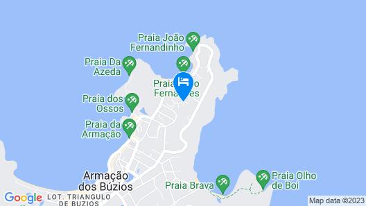 La Pedrera Small Hotel & Spa Map