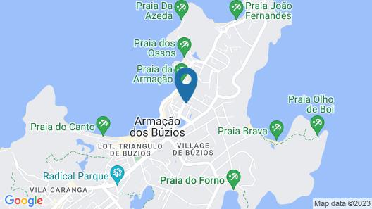 Búzios Centro Hotel by Kastel Map