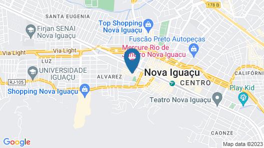 Mercure RJ Nova Iguaçu Hotel Map