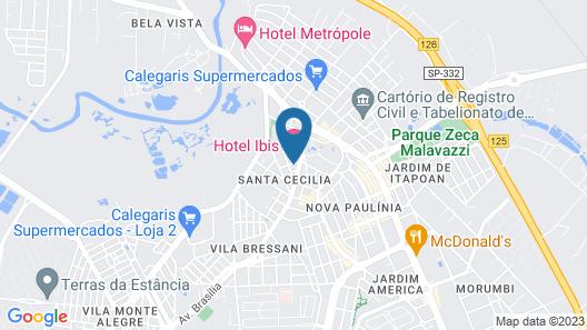 ibis Paulinia Map