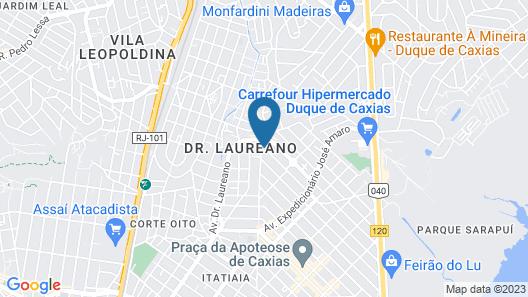 Amplo Apartamento Map