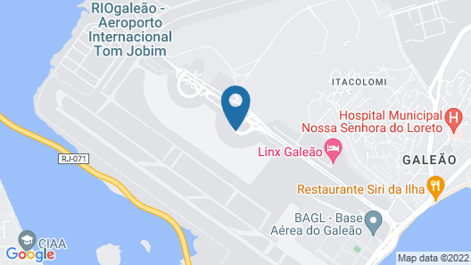 Aerotel Airport Transit Hotel Map