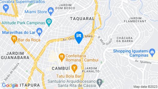 I Am Design Hotel + Residence Map