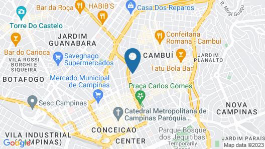 Go Inn Campinas Map