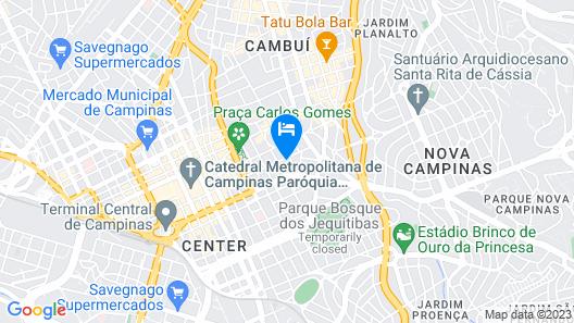 Dan Inn Campinas Cambuí Map