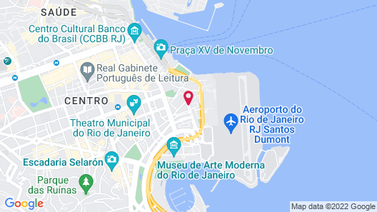 Novotel RJ Santos Dumont Map