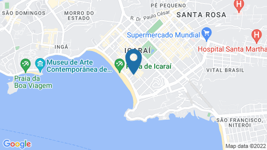 Icaraí Praia Hotel Map
