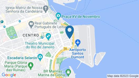 ibis Rio de Janeiro Santos Dumont Map