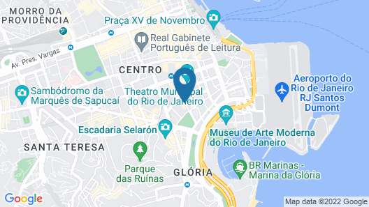 Windsor Asturias Hotel Map