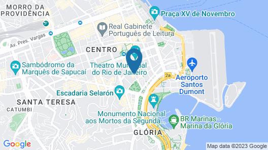 Hotel Atlantico Business Centro Map