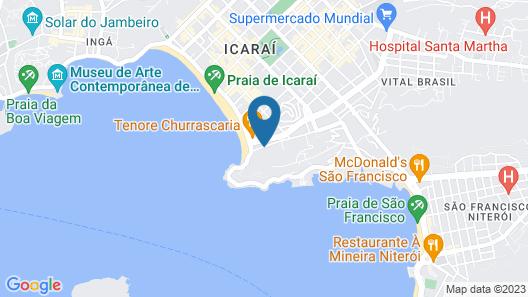 Best Western Plus Icarai Design Hotel Map