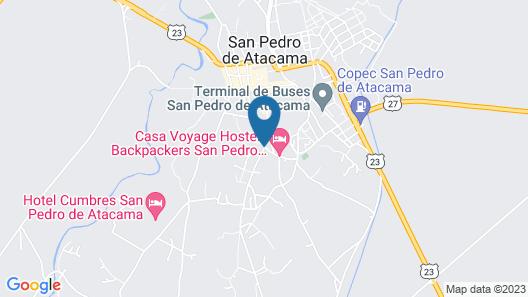 Noi Casa Atacama Map