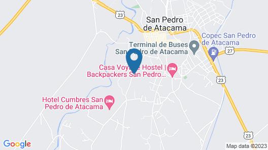 explora Atacama - All Inclusive Map