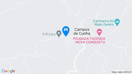 Pousada Viajantes do Tempo Map