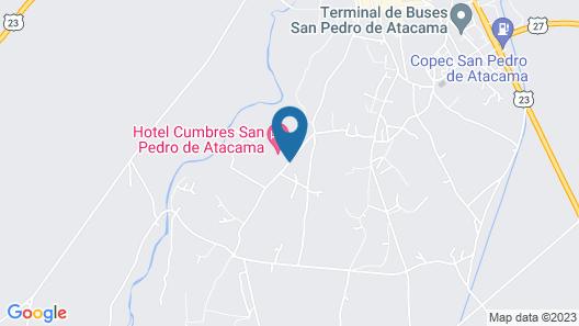 Tierra Atacama Hotel And Spa Map